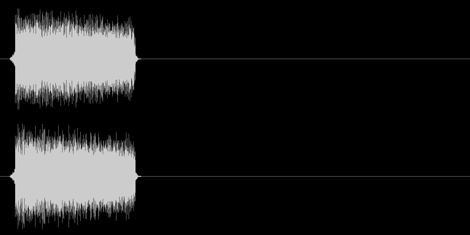 電子音的正解の未再生の波形