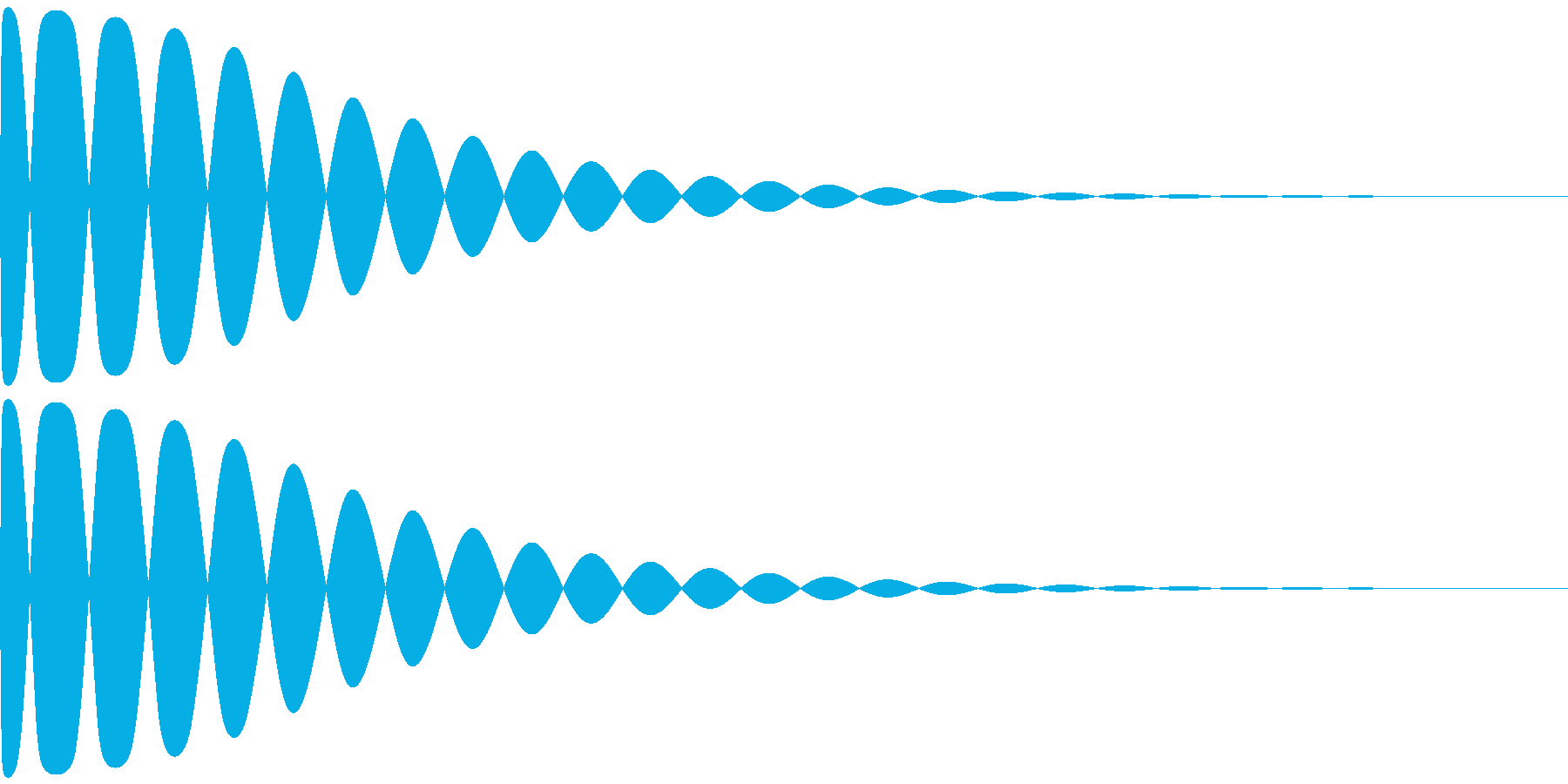 コォ~~~~~~ン(グラス系)の再生済みの波形