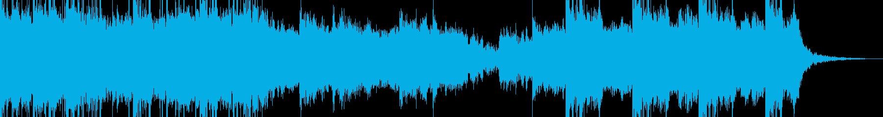 パラレル空間を連想させるオーケストラの再生済みの波形