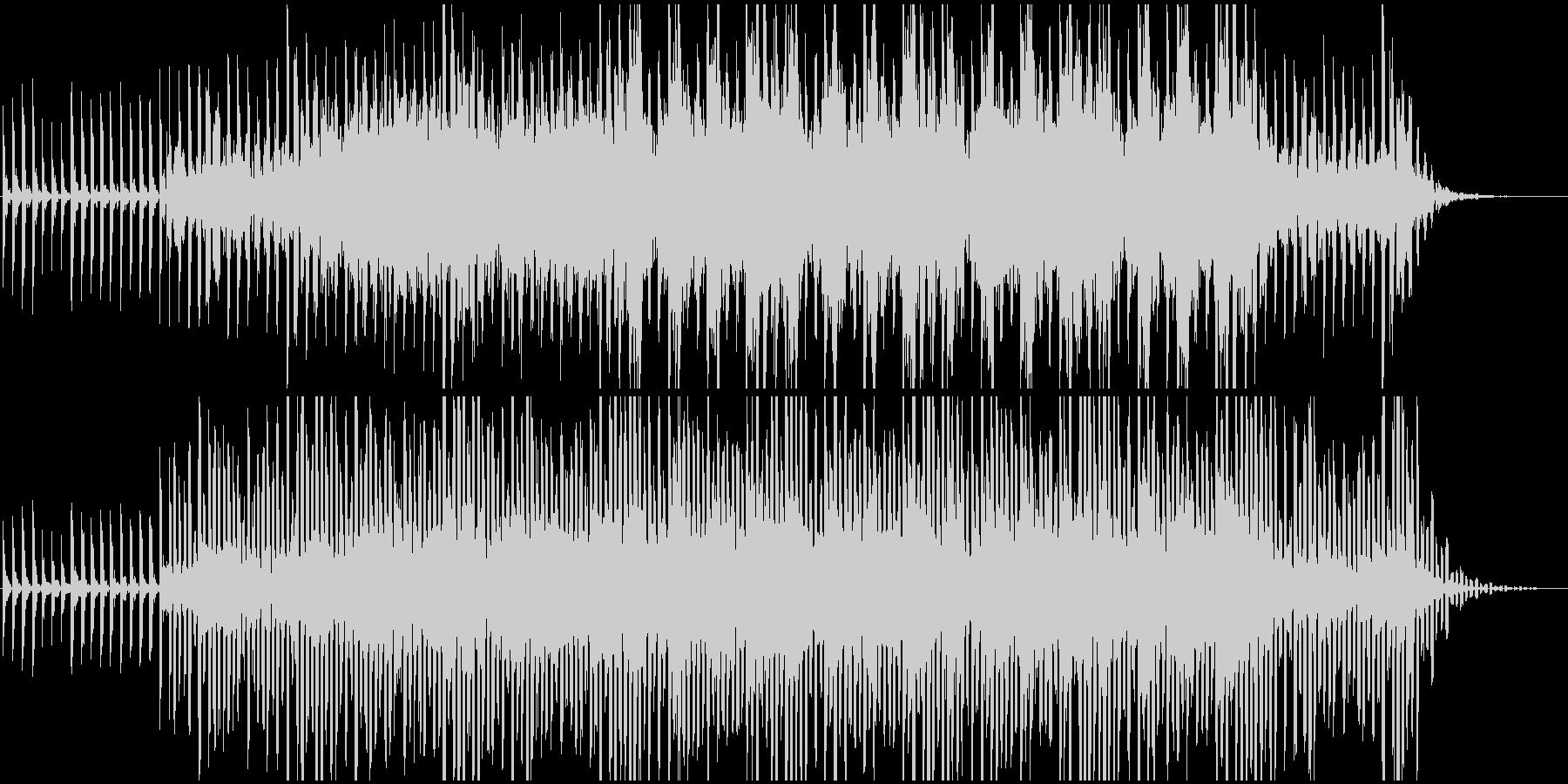 サイエンス系BGM(WAV版)の未再生の波形