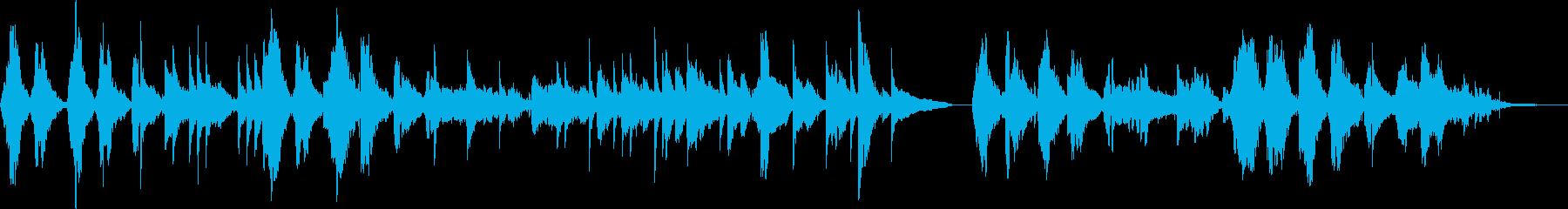 ハードボイルド・バー(トランペット)の再生済みの波形