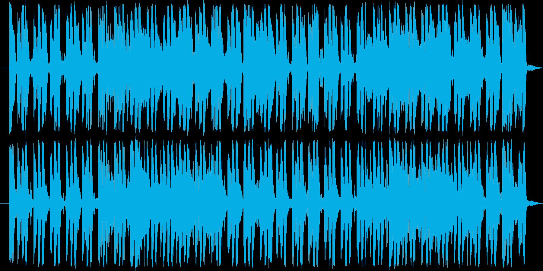 ループ素材です。エスニックテクノとなっ…の再生済みの波形
