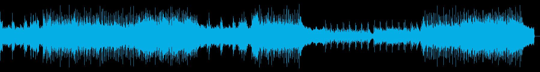 往年のハードロック(ギターソロ抜き)の再生済みの波形