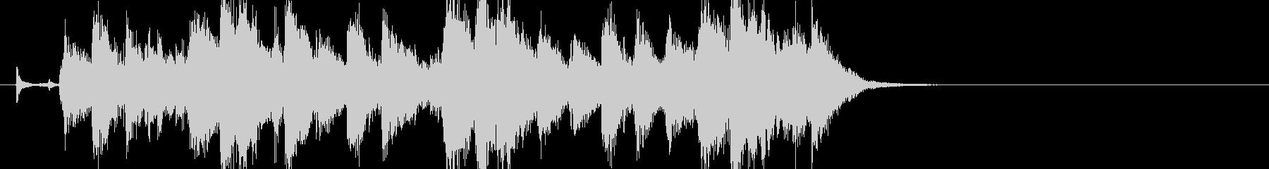 サックスメインのアダルトなジャズジングルの未再生の波形