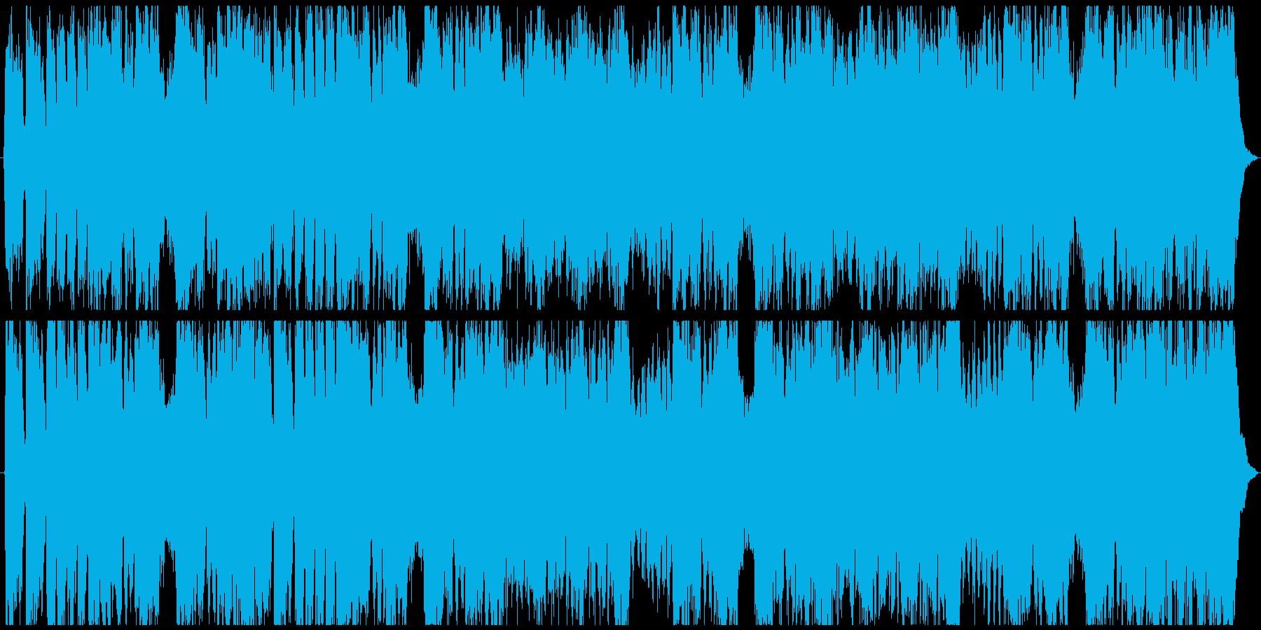 エレキを使ったゴージャスな結婚行進曲の再生済みの波形