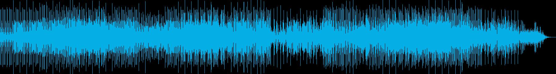 奇妙なテイストのマシンドラムソロの再生済みの波形