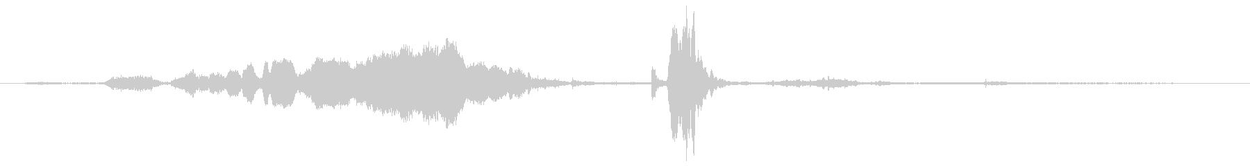 ロバ ブレイスロー03の未再生の波形