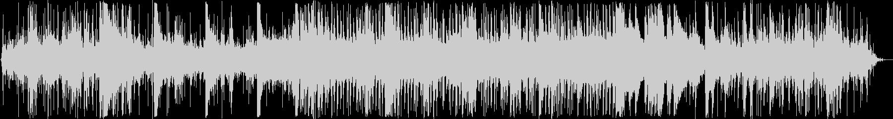 水とピアノのほのぼのBGMの未再生の波形