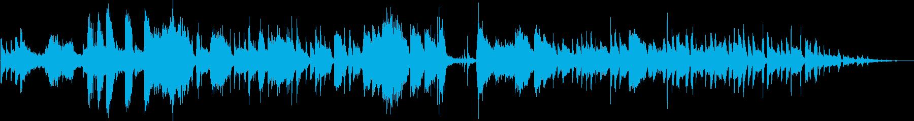 勢いのある独特なメロディーの再生済みの波形
