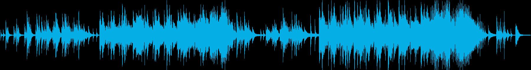 変拍子の爽やかなピアノソロの再生済みの波形