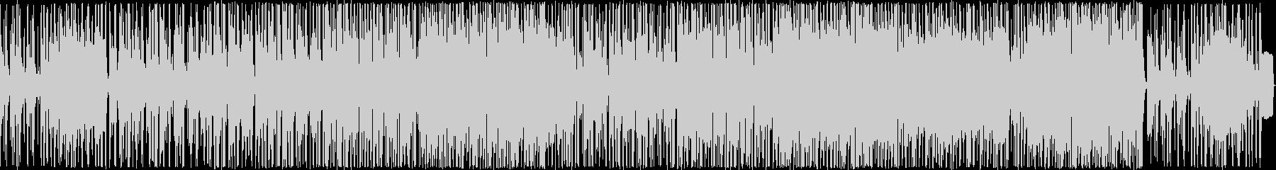 ヒップホップ風のリズムのR&Bバラード7の未再生の波形