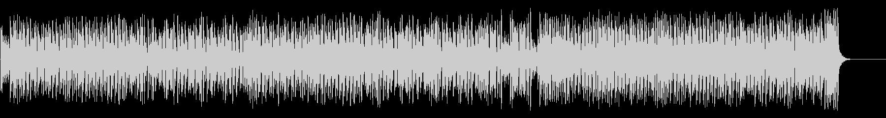 スウィングとピアノのジャズポップスの未再生の波形