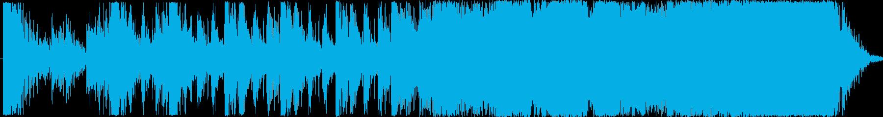オーケストラアレンジオープニング曲の再生済みの波形
