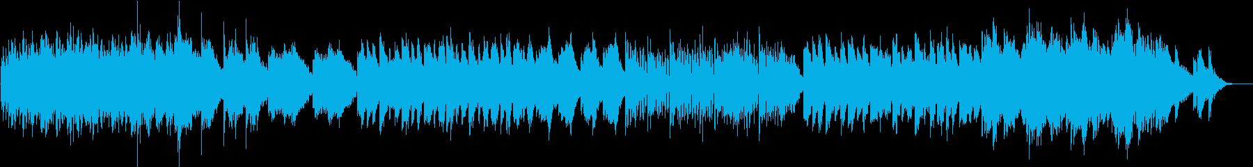 ミステリアスなインストの再生済みの波形