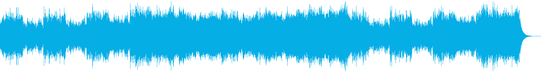 【YouTube】どうなる!?緊迫した曲の再生済みの波形