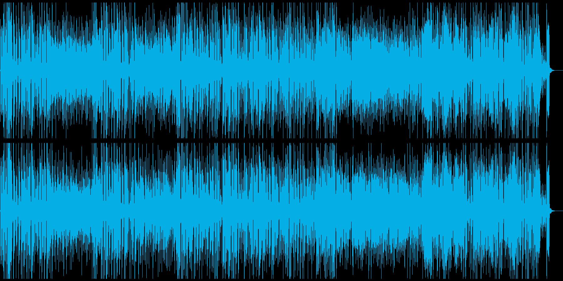 ハッピーでレトロな遊園地系ジプシージャズの再生済みの波形