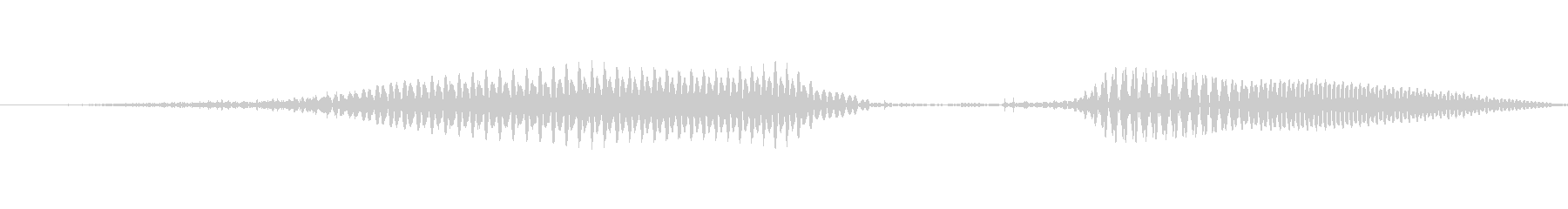 (女性)ドイツ語数字7(七) ズィーベンの未再生の波形