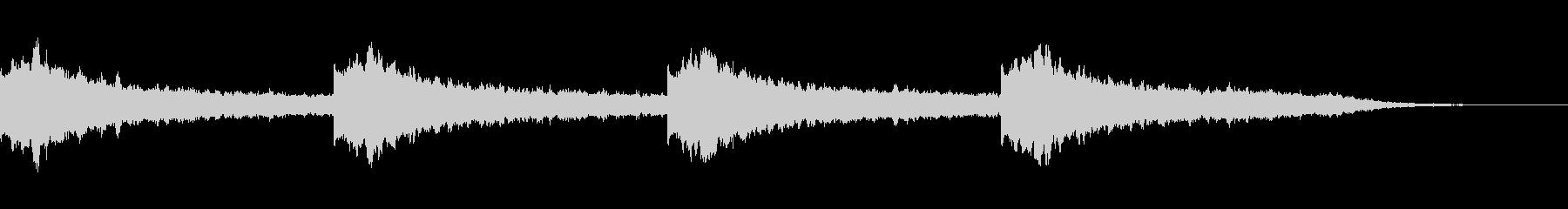 【幻想的】ヒーリング、ヨガ、自然癒し音楽の未再生の波形