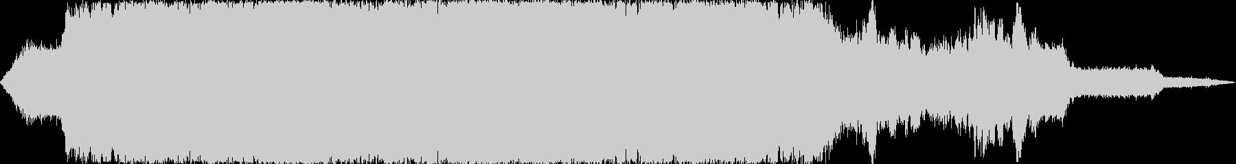 道路工事4  騒音 現場 重機 立体音響の未再生の波形