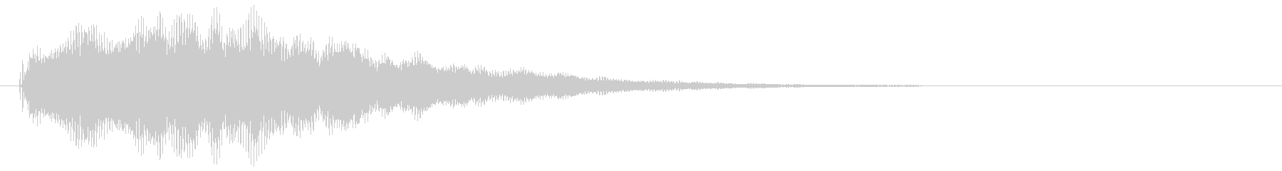 ロゴサステインLFE付き電子リップルの未再生の波形