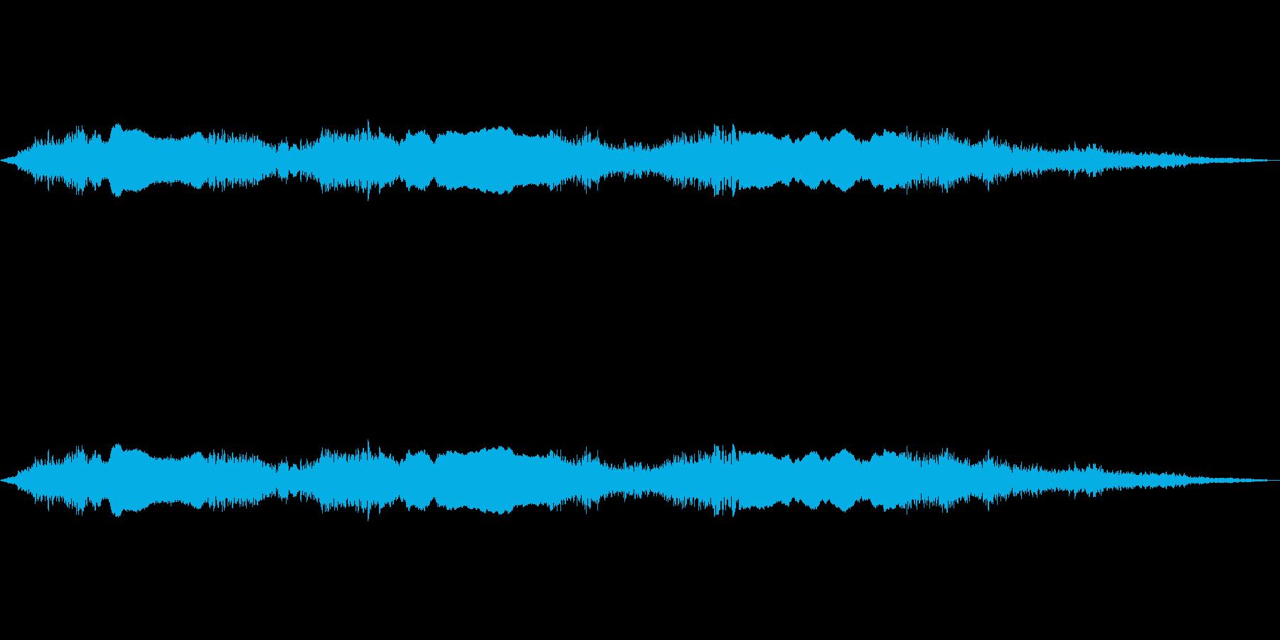 サイレンサイレンの再生済みの波形