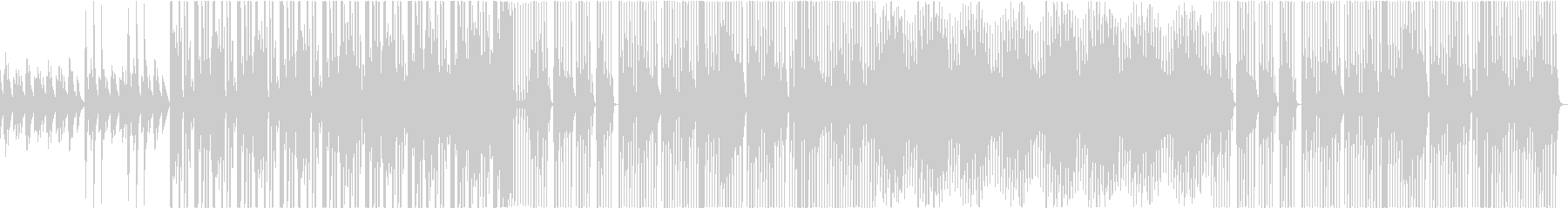 森・木・自然・ピアノ・かわいいポップスの未再生の波形