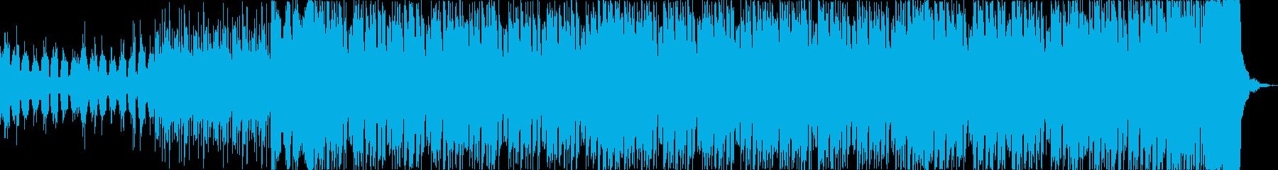 チルアウトカッコいいトロピカルハウスbの再生済みの波形