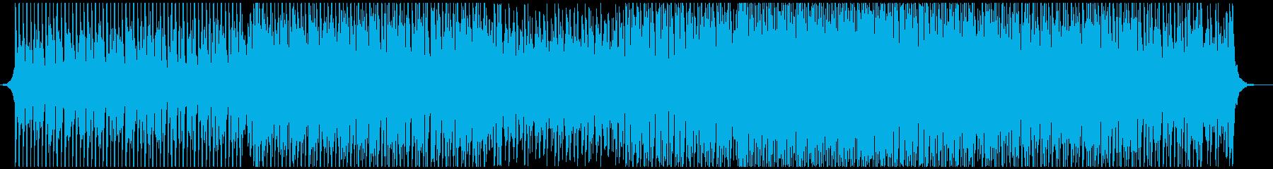 ポップパーティーの再生済みの波形