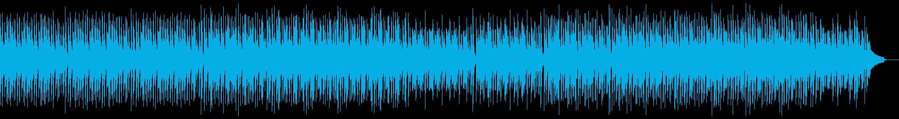 明るく前向きなピアノポップ:ドラムなしの再生済みの波形