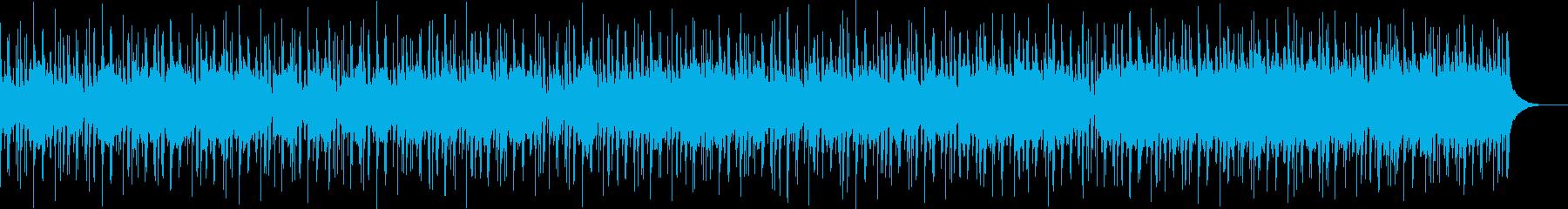ブルージーなピアノとオーケストラの...の再生済みの波形
