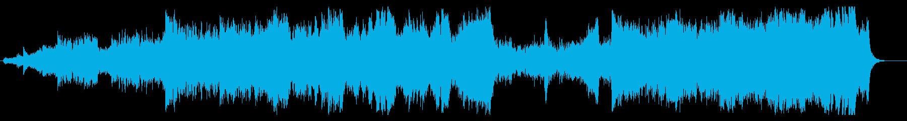 バトルアクションオーケストラの再生済みの波形