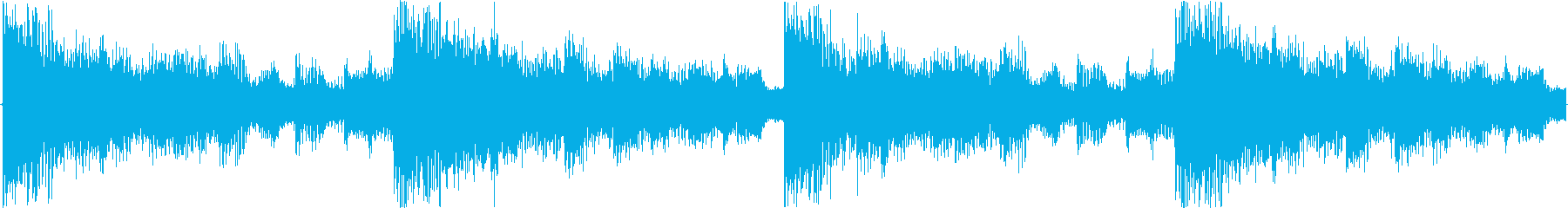 幻想的なおかつ空間的なイメージをした楽…の再生済みの波形