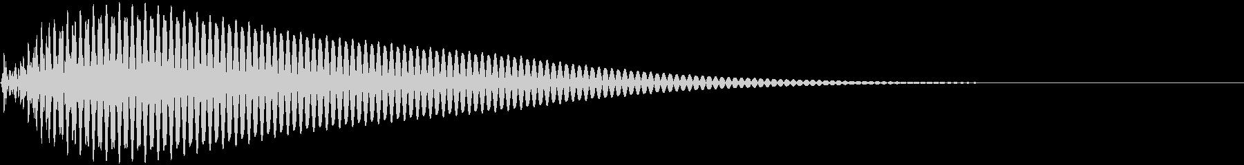 タン 低 (ボタン、スタート音)の未再生の波形