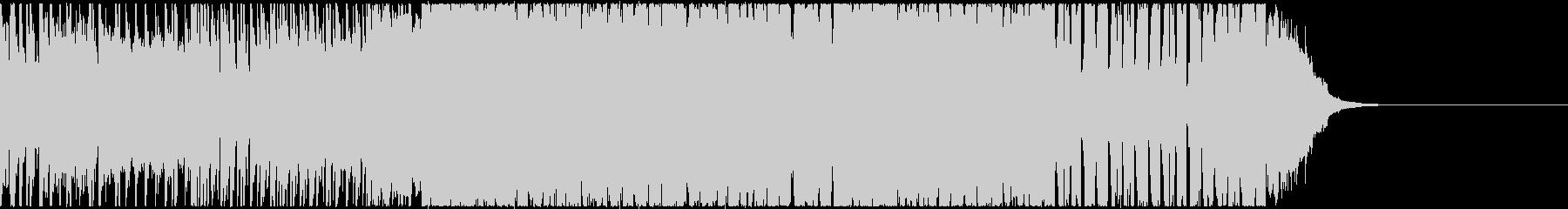 ノリノリなトランペット風EDMの未再生の波形