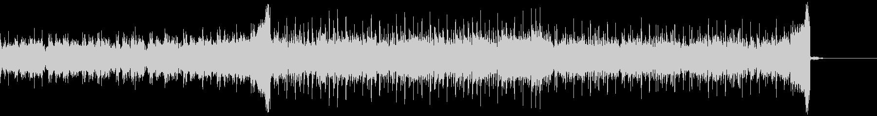 シンセ中心の軽快なポップスの未再生の波形