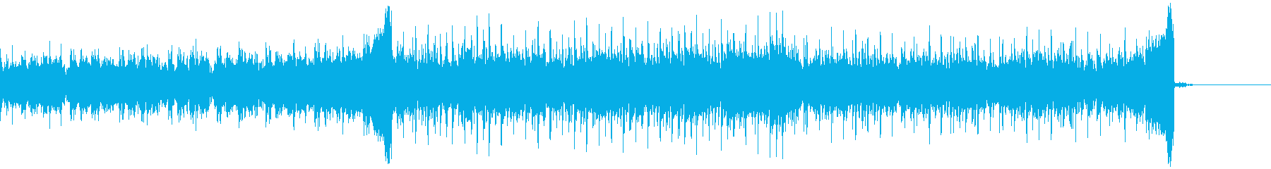シンセ中心の軽快なポップスの再生済みの波形