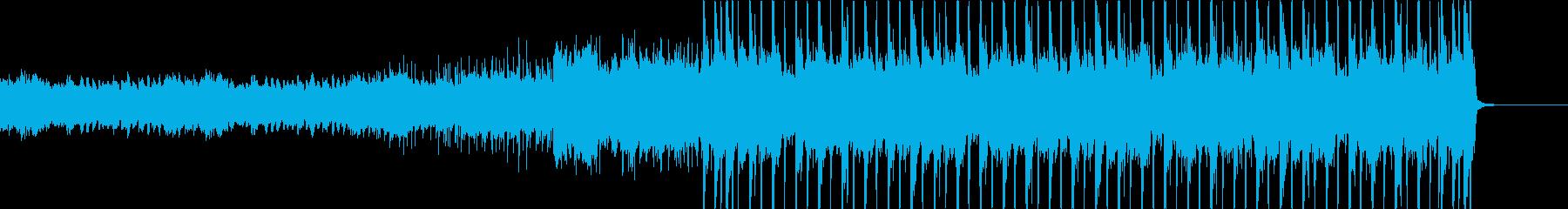 神秘的な場所へ向かうBGMの再生済みの波形