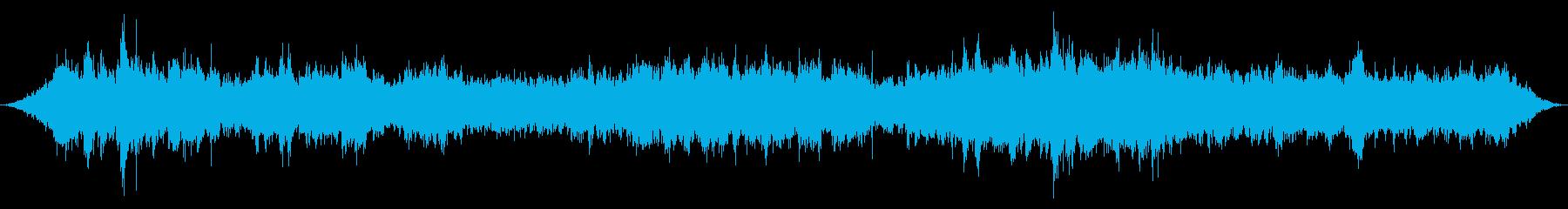 小規模の講堂:激しいシャッフル、声...の再生済みの波形
