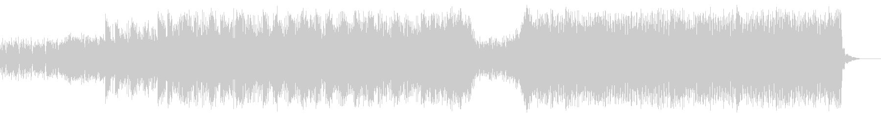 緊張感オカルト感のある力強い曲(ホラー)の未再生の波形