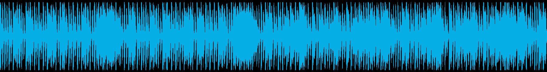 お洒落レトロ感エレクトロスイング(ループの再生済みの波形