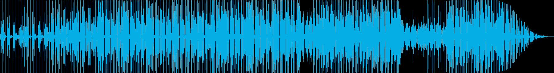 夕暮れの海に合う落ち着いたサーフ曲の再生済みの波形