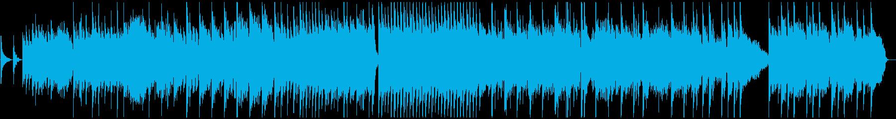 どこか懐かしい和テイストなバラードの再生済みの波形