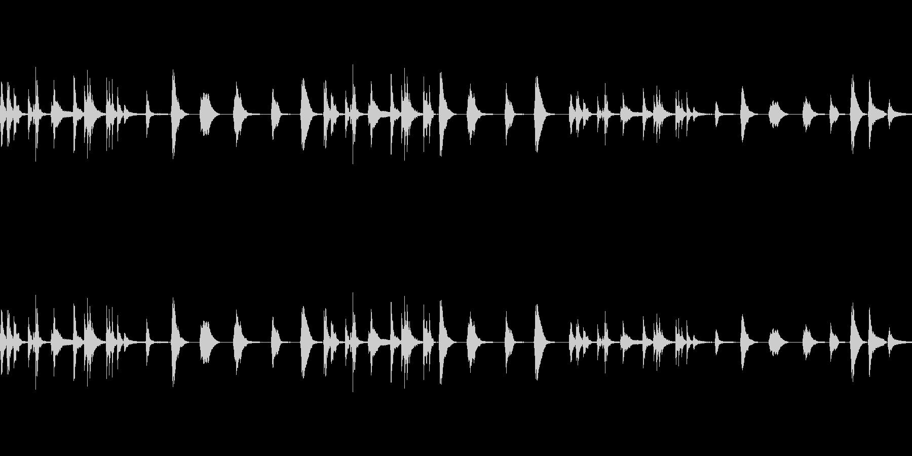 気まぐれな、ベルのようなトーン:優...の未再生の波形