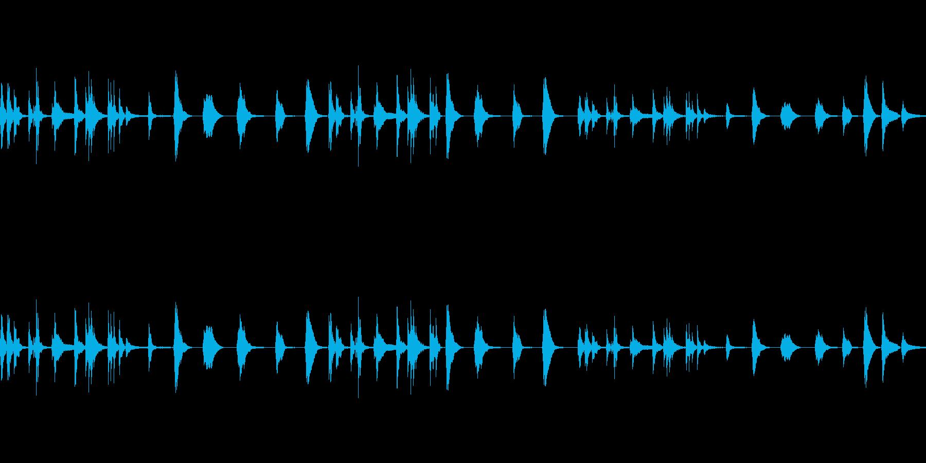気まぐれな、ベルのようなトーン:優...の再生済みの波形