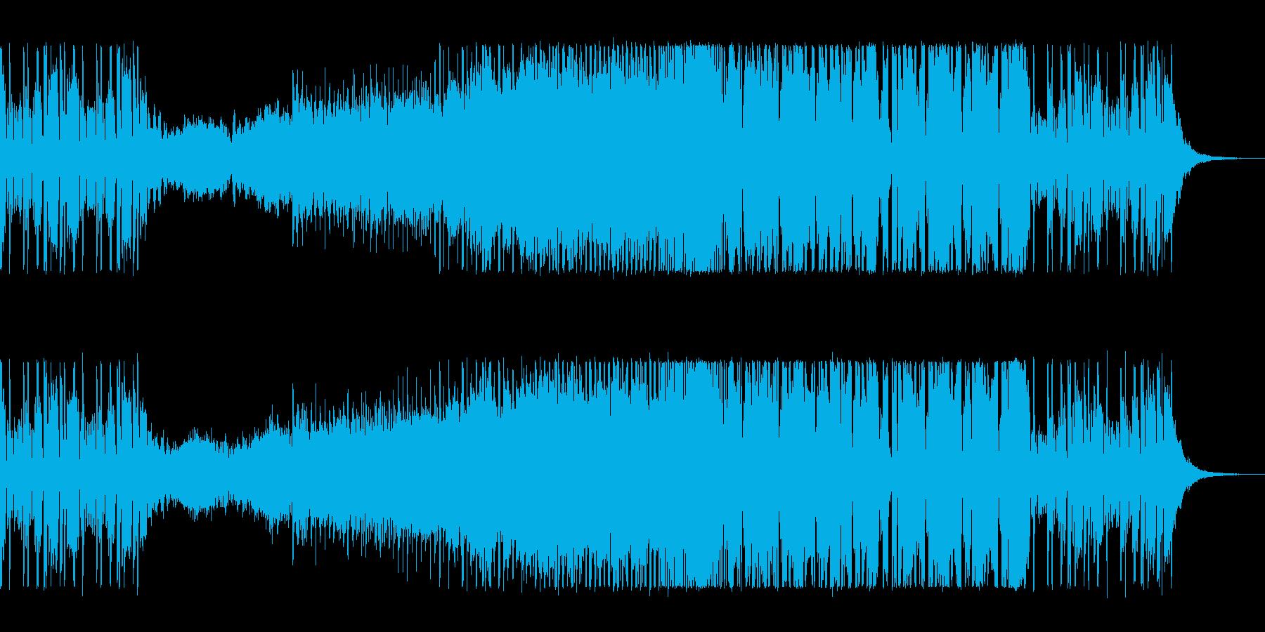 ゆったりキラキラのエレクトロポップの再生済みの波形