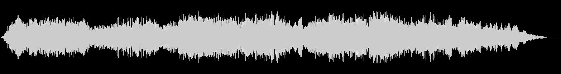 スピリットホロー2の未再生の波形