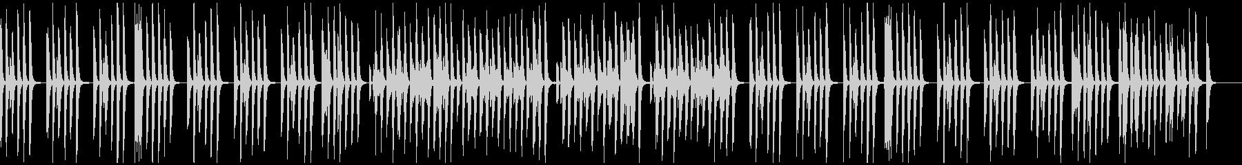 リコーダー、マリンバの間抜けで可愛い曲の未再生の波形