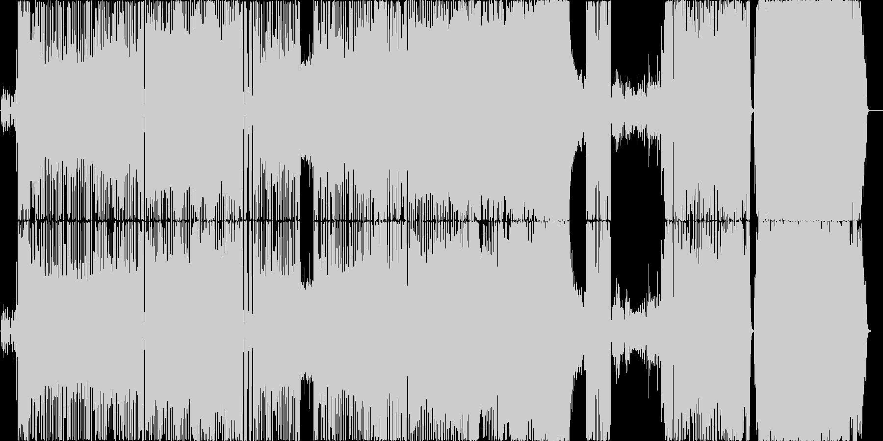 白鳥の湖をモチーフにしたポップバラードの未再生の波形