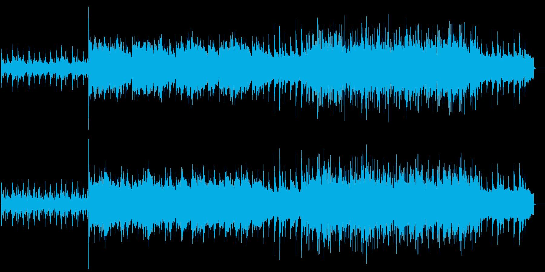 優しいミドルテンポバラードの再生済みの波形