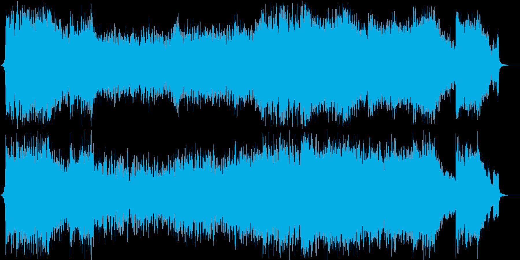 オーケストラの構成で、最後の戦いをイメ…の再生済みの波形